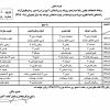 برنامه امتحانات نهایی خرداد ماه ۹۸ (سال تحصیلی ۹۸-۱۳۹۷)