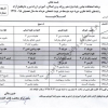 اصلاحیه تغییر برنامه امتحانات نهایی خرداد ماه ۹۸